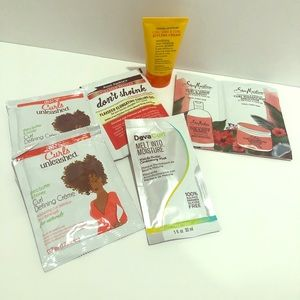 Curly Hair product samples all 6 items included